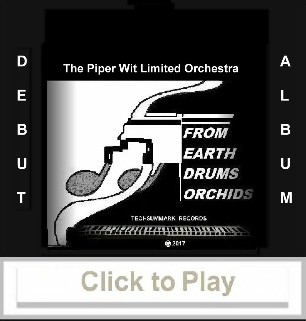 Link to audio play the Debut Album:  FROM EARTH DRUMS ORCHIDS